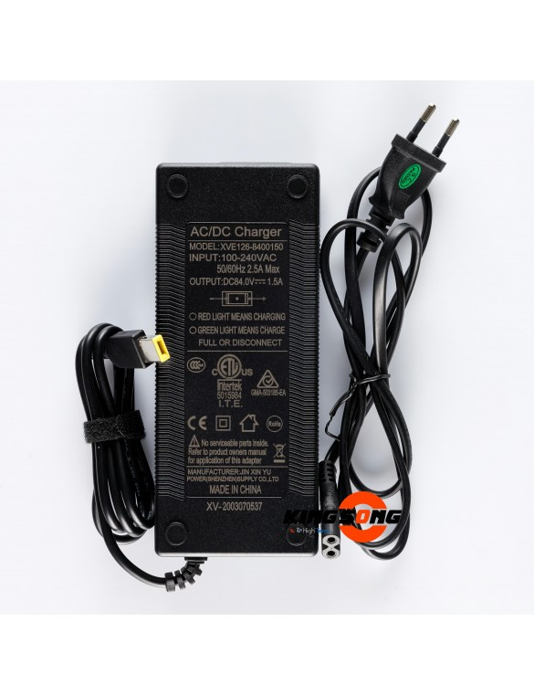 Chargeur 84V 1.5A
